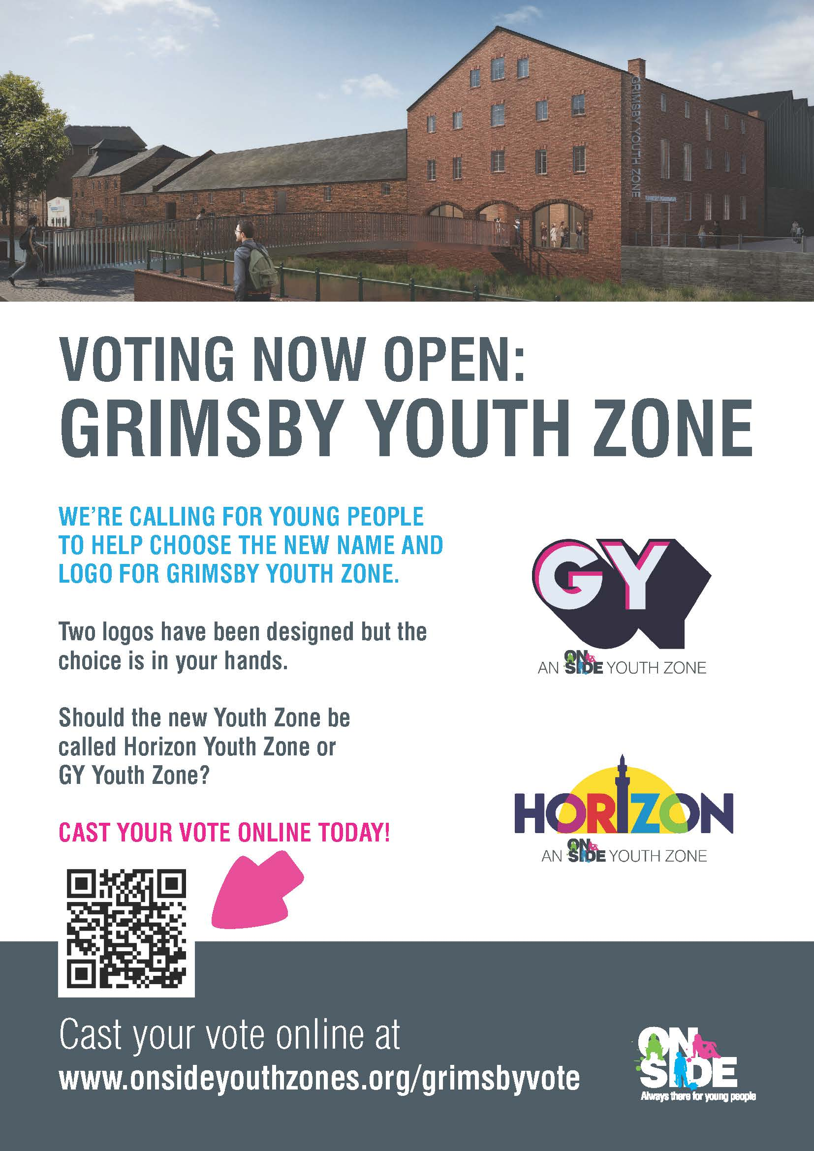 Grimsby Youth Zone Vote