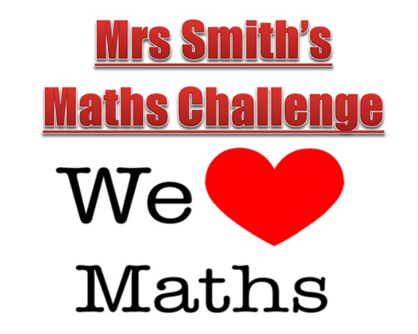 Mrs Smith's Maths Challenge: We Love Maths